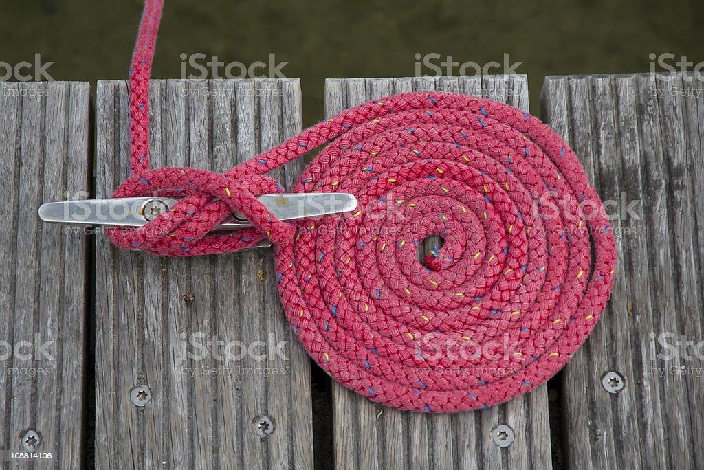 Running knot stock photo