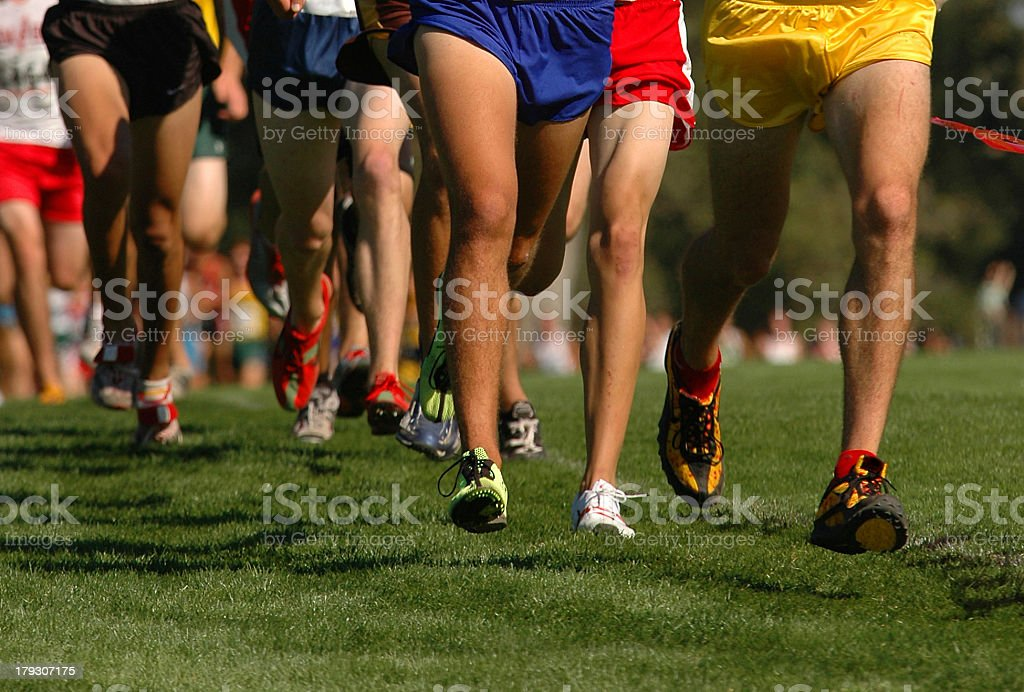 Running Legs royalty-free stock photo