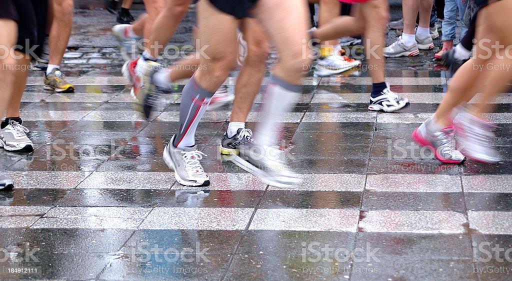 Running Legs stock photo