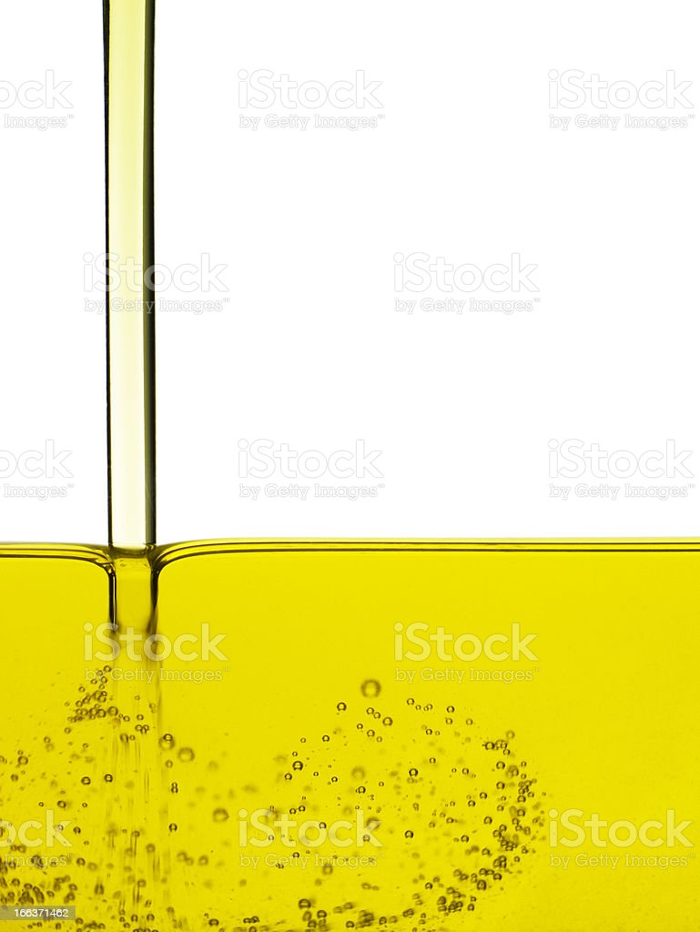Running oil stock photo