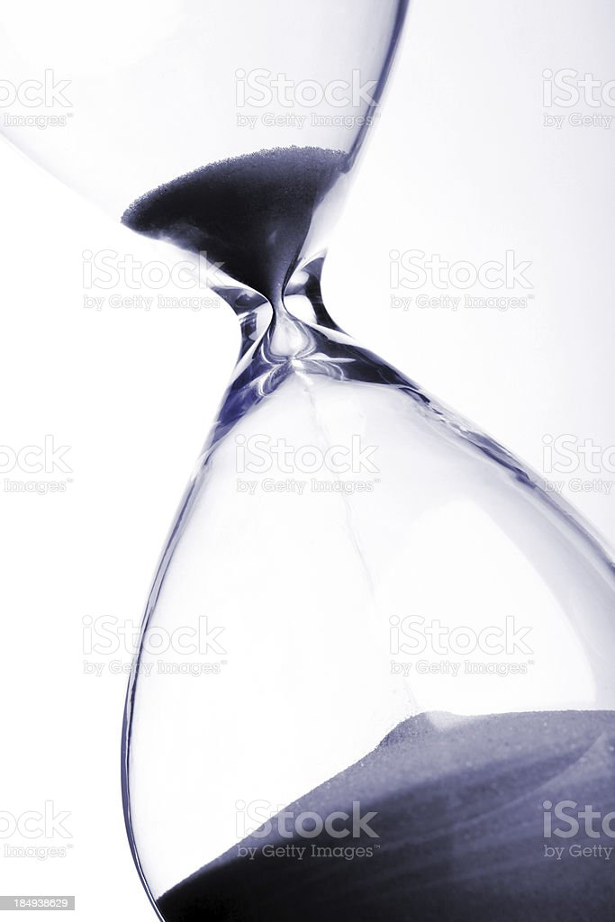 Running out of time royalty-free stock photo