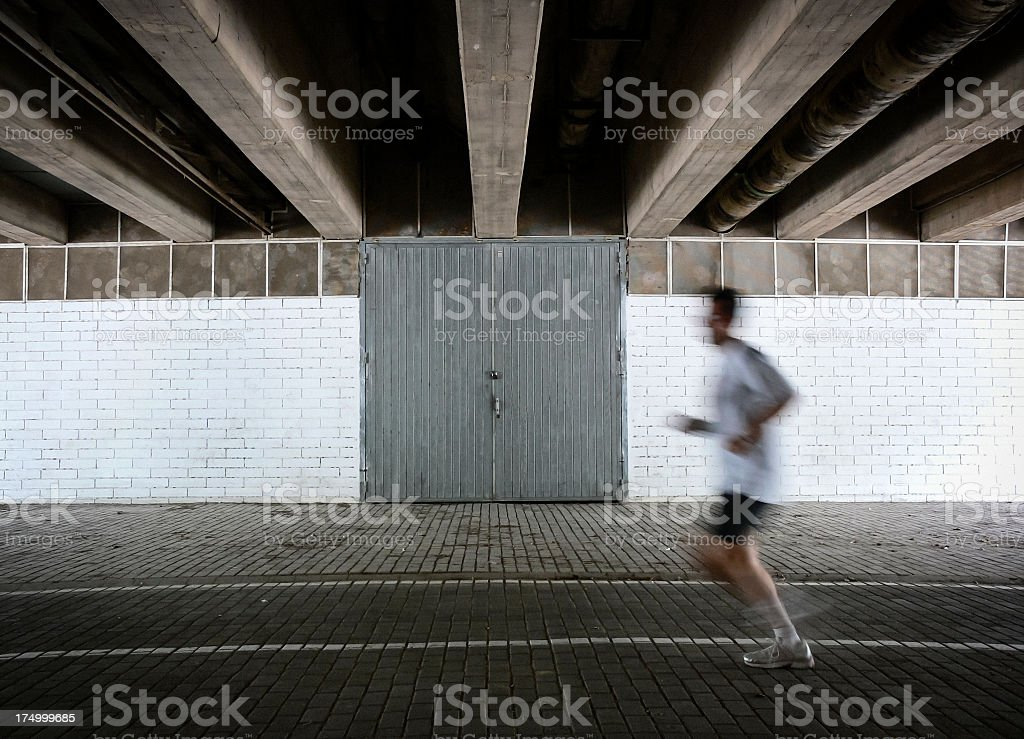 Running stock photo