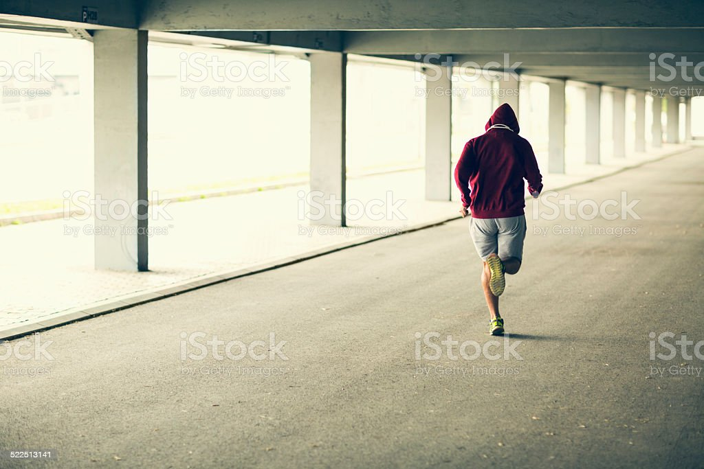 Running stock photo