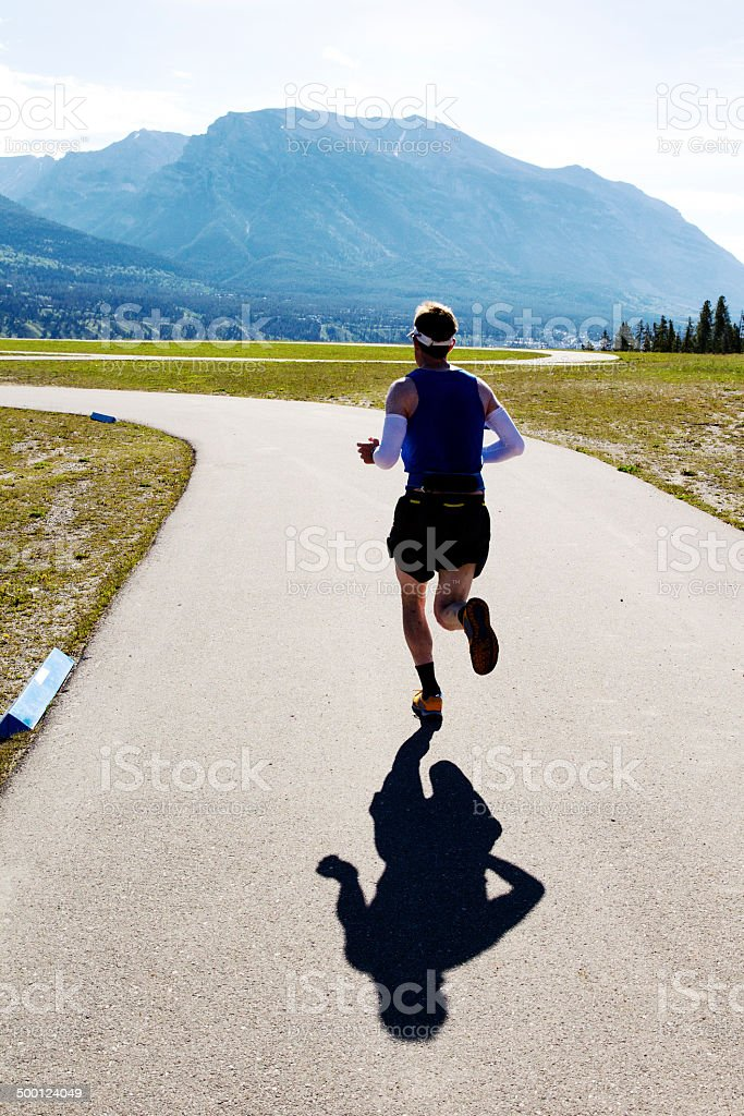 Running Race stock photo