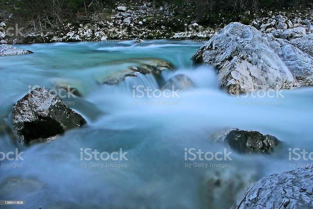 running river royalty-free stock photo