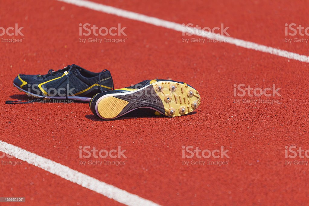 running shoes  for men stock photo