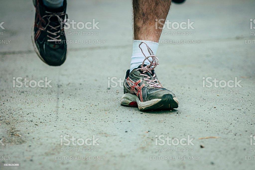러닝 신발도 royalty-free 스톡 사진