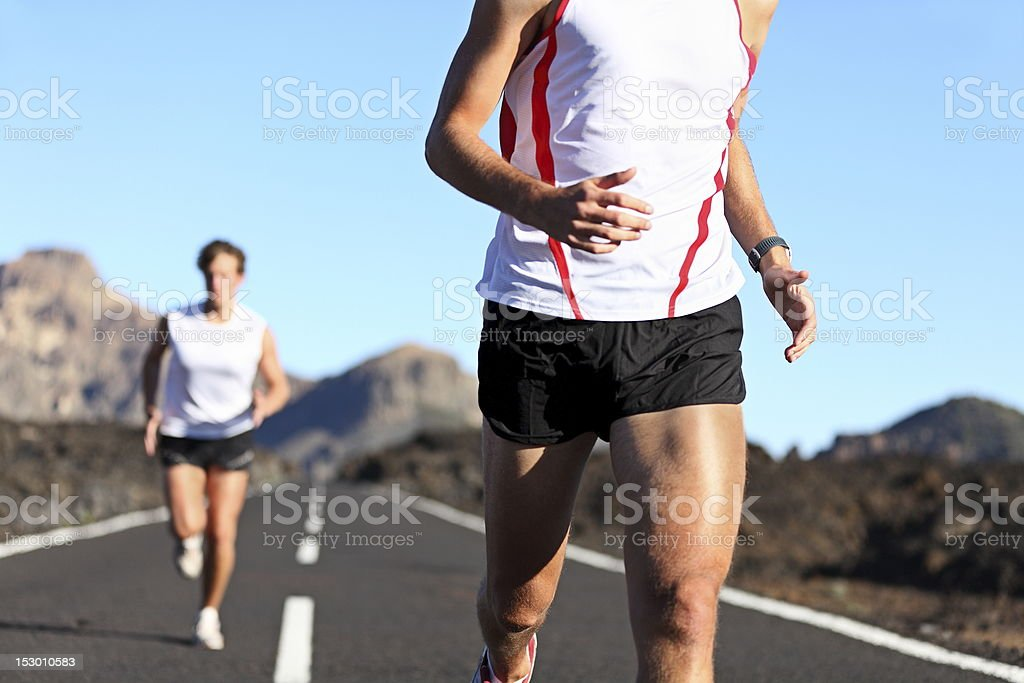Running Sport royalty-free stock photo