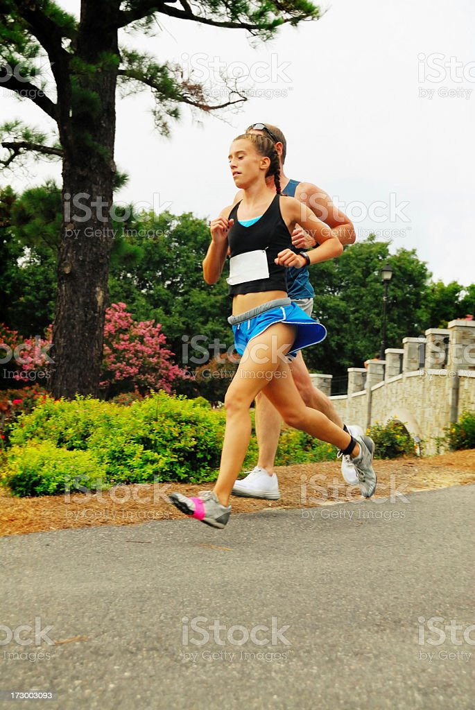 Running Strong stock photo