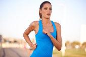 Running towards fitness