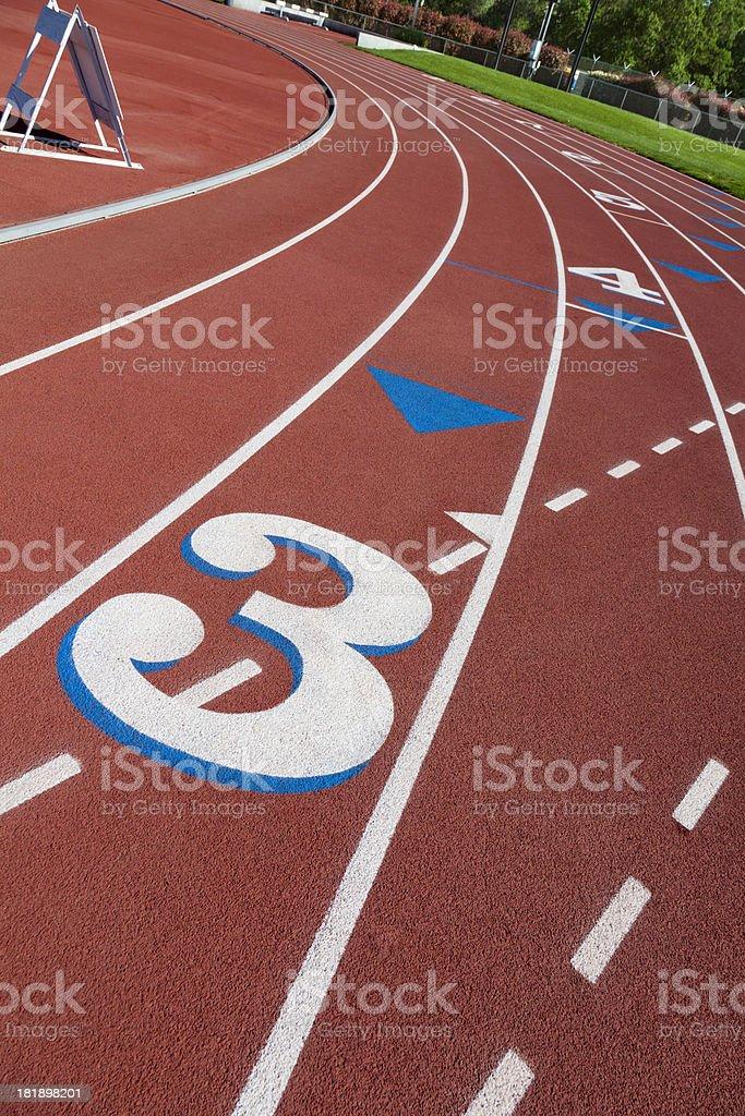 Running Track 3 royalty-free stock photo