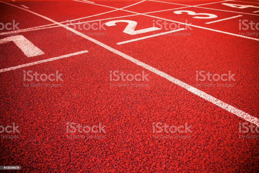 Running Track background textured stock photo
