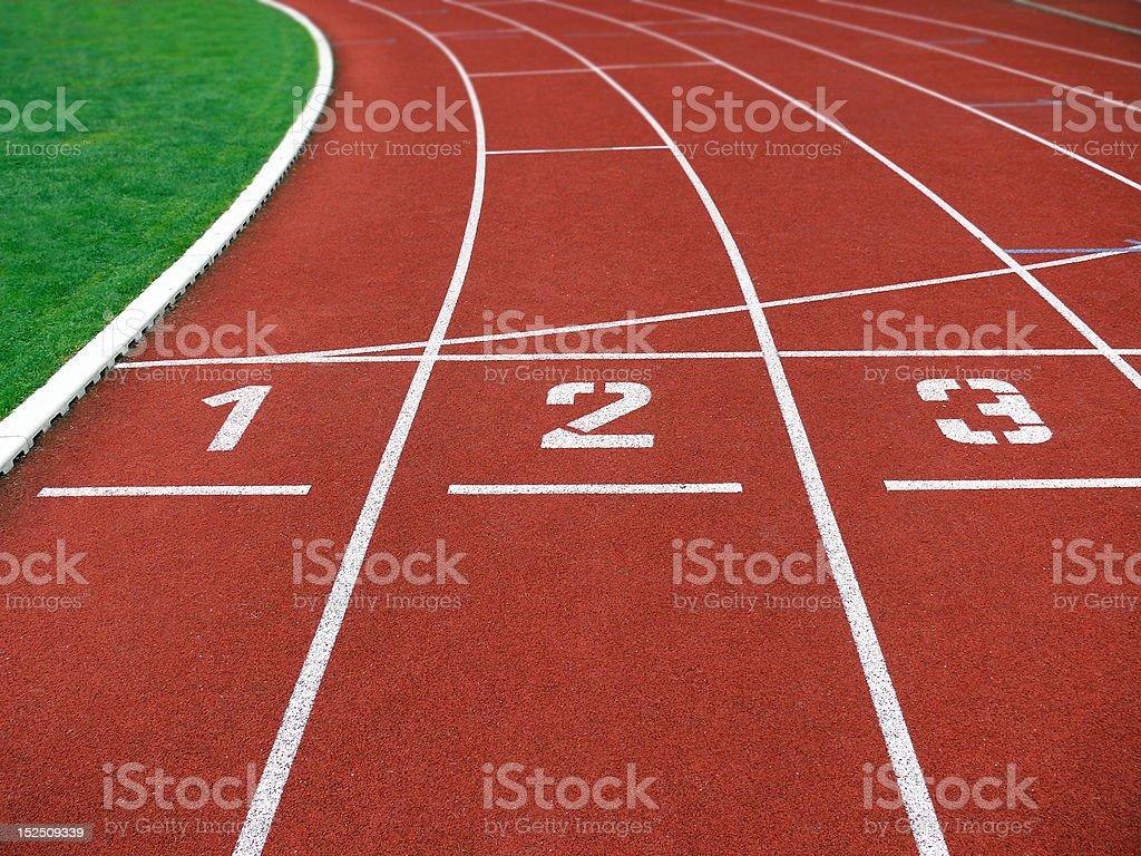 running track royalty-free stock photo