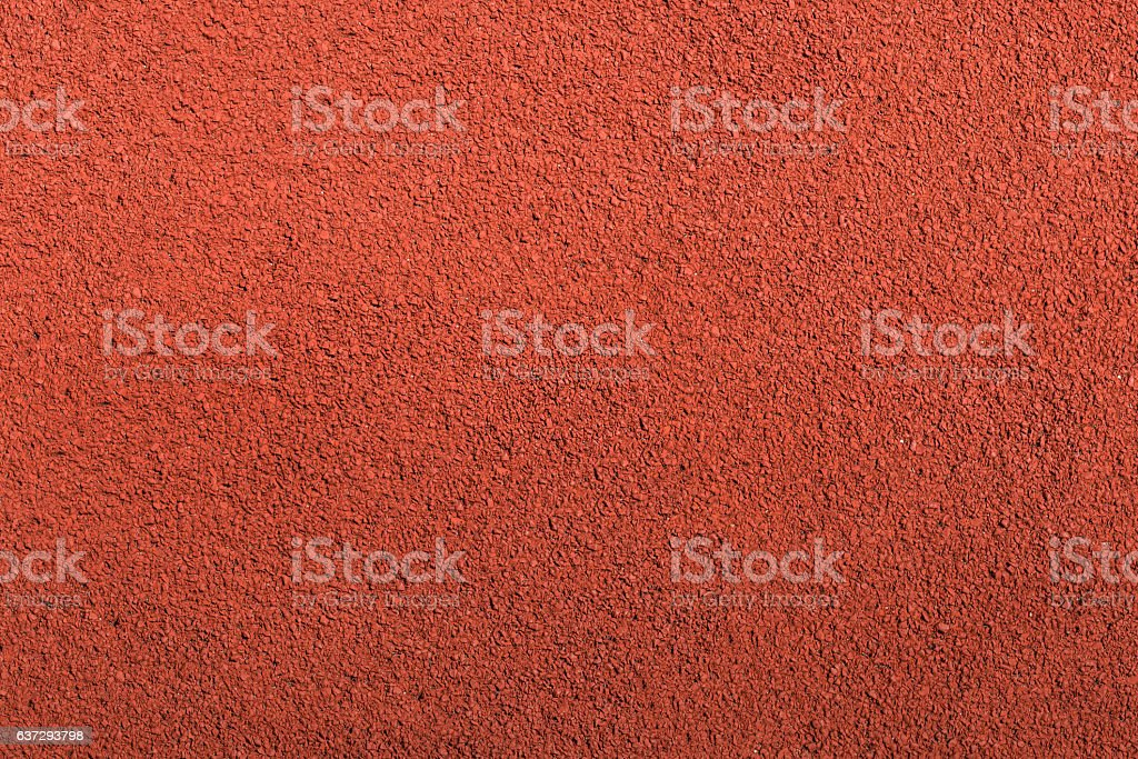 Running track rubber cover texture top view background. stock photo