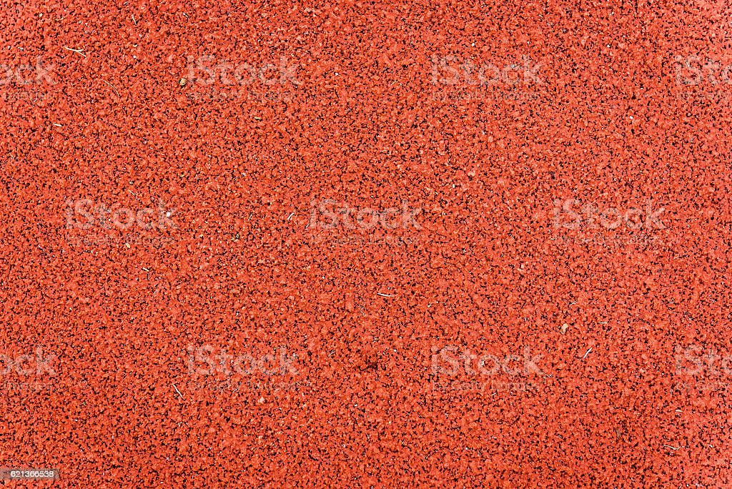 Running track rubber texture. Top view rubber running sports track...