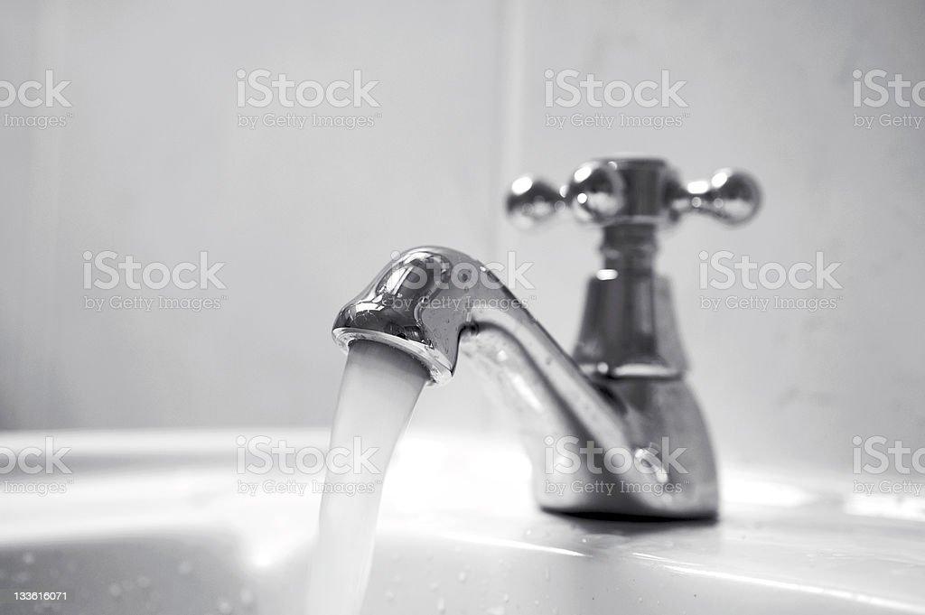 Running water stock photo