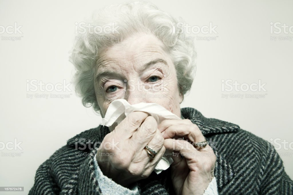 runny nose royalty-free stock photo