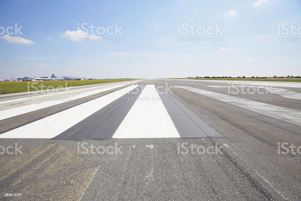 Runway royalty-free stock photo