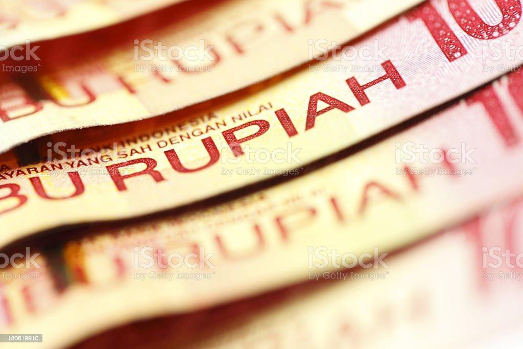 Rupiah stock photo