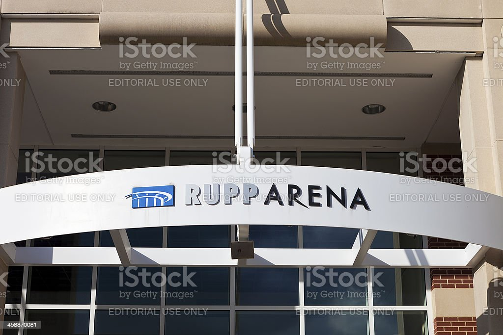 Rupp Arena In Lexington, Kentucky stock photo