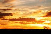 Rural Autumn Sunset