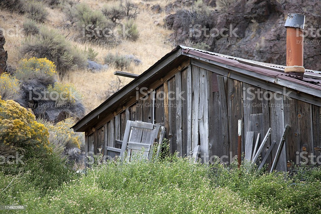 Rural Blight royalty-free stock photo