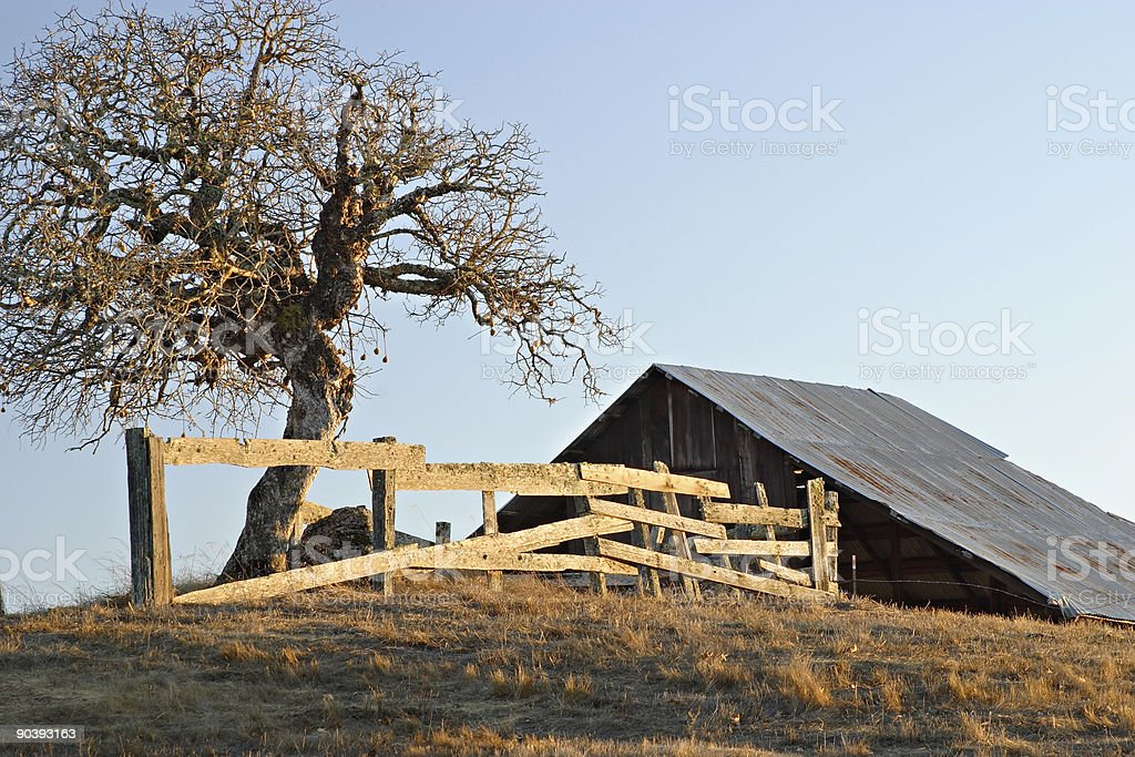 Rural California royalty-free stock photo