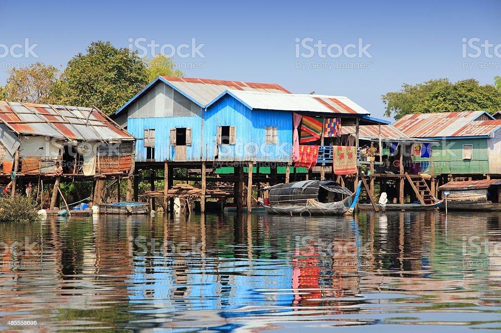 Rural Cambodia stock photo