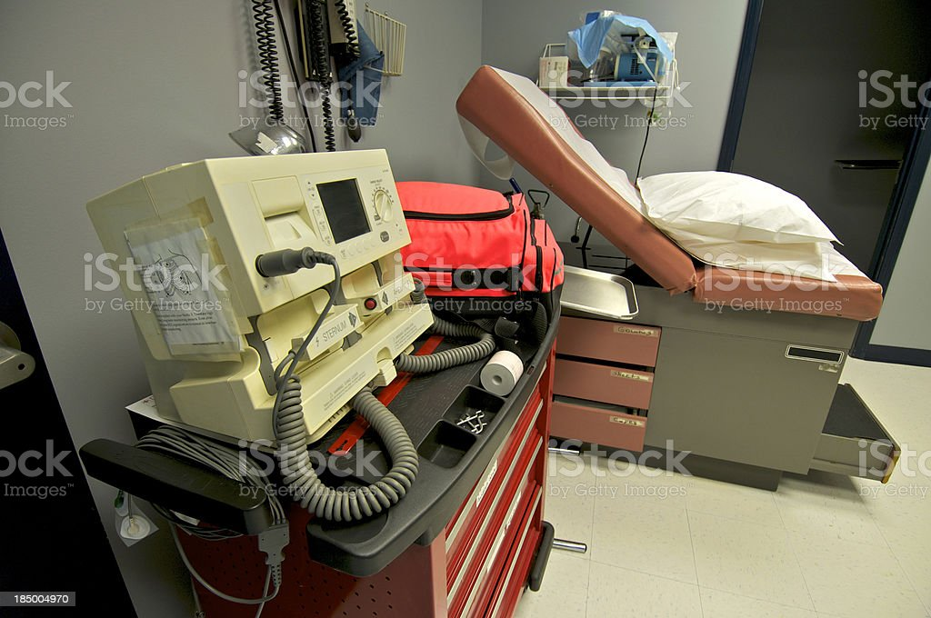 Rural Clinic Emergency Room royalty-free stock photo