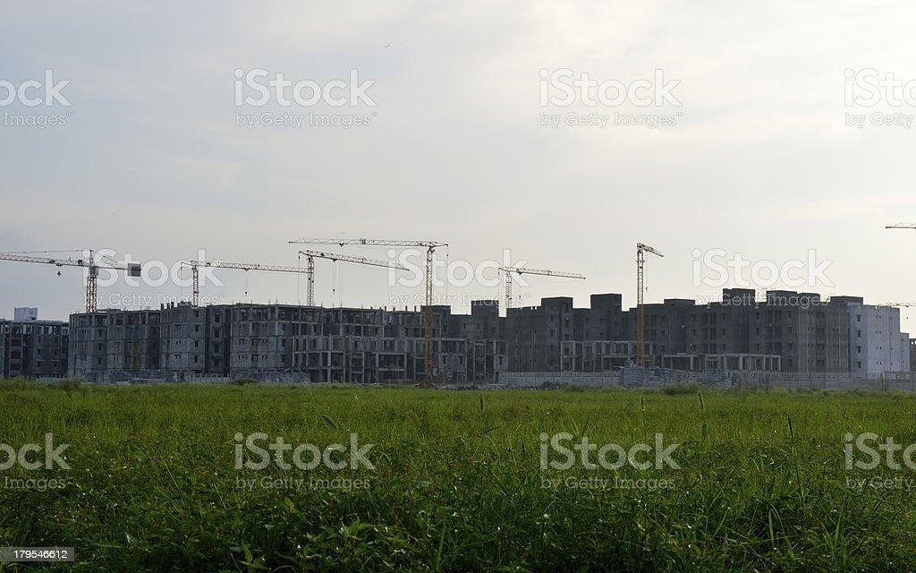 Rural Construction royalty-free stock photo
