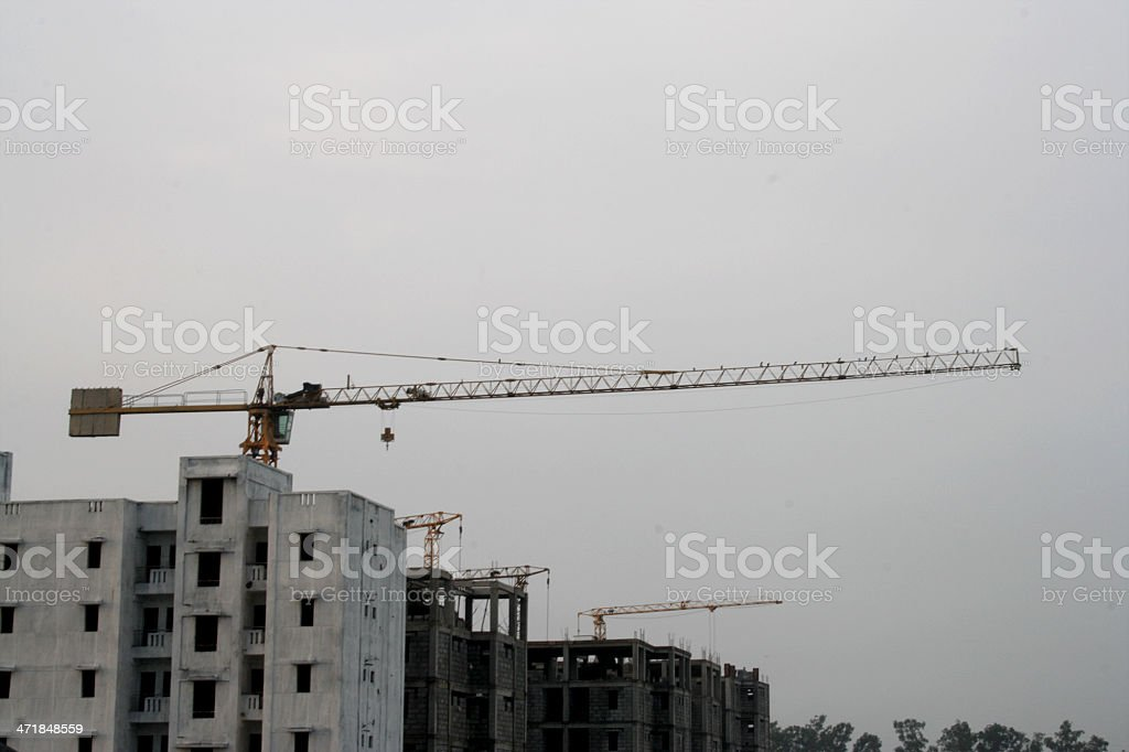 Rural Construction Site royalty-free stock photo