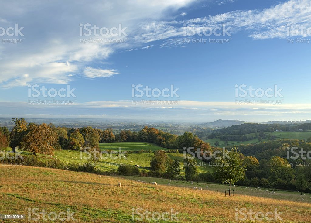 Rural Cotswolds royalty-free stock photo
