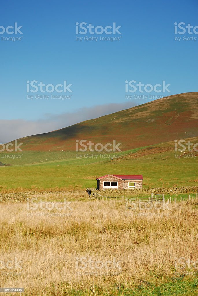 Rural Cottage stock photo