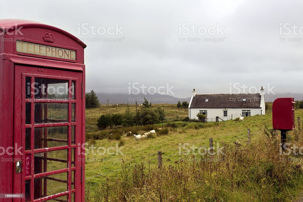 Rural cottage royalty-free stock photo