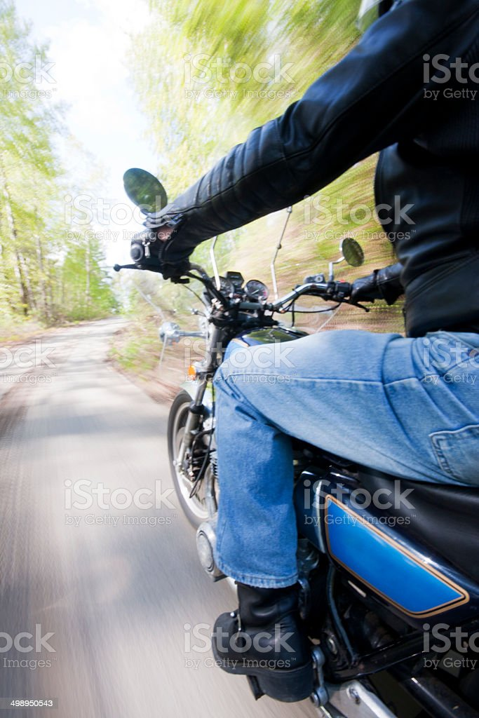 Rural Cruiser Ride royalty-free stock photo