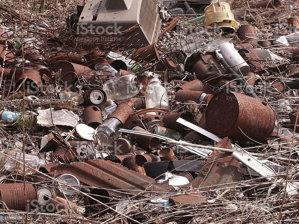 Rural Dump royalty-free stock photo