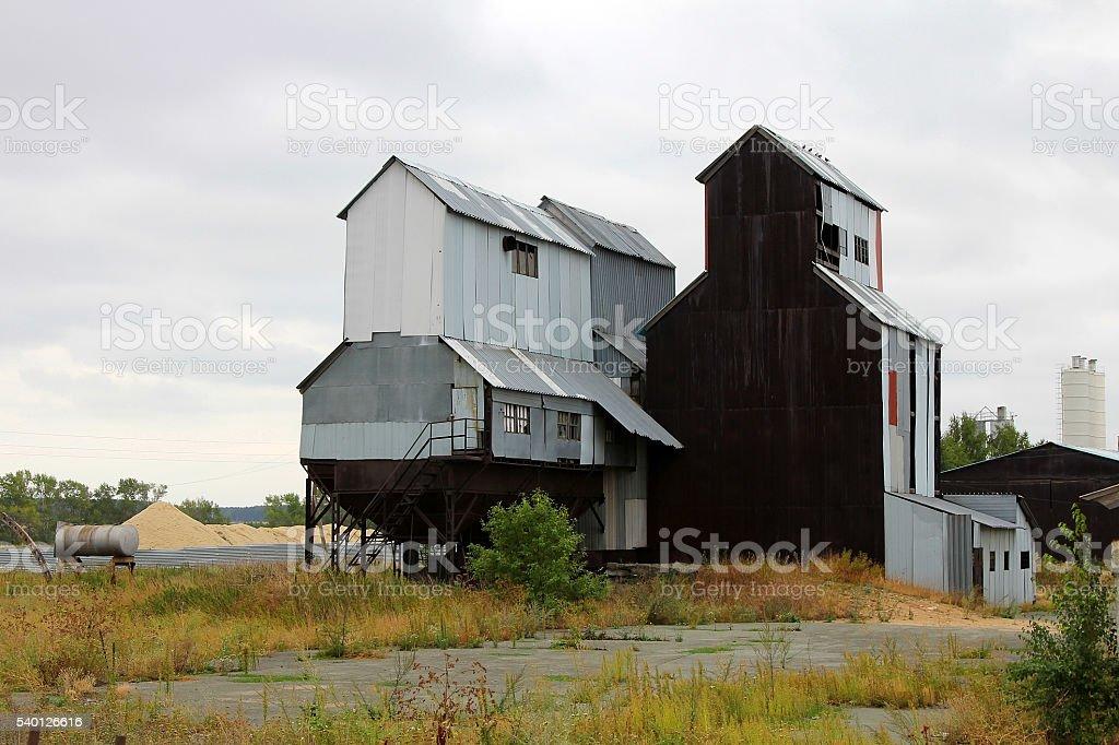 Rural Elevator stock photo