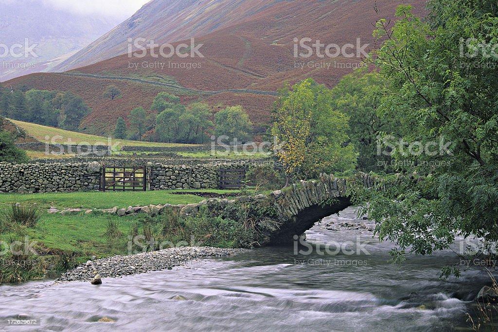 Rural England stock photo