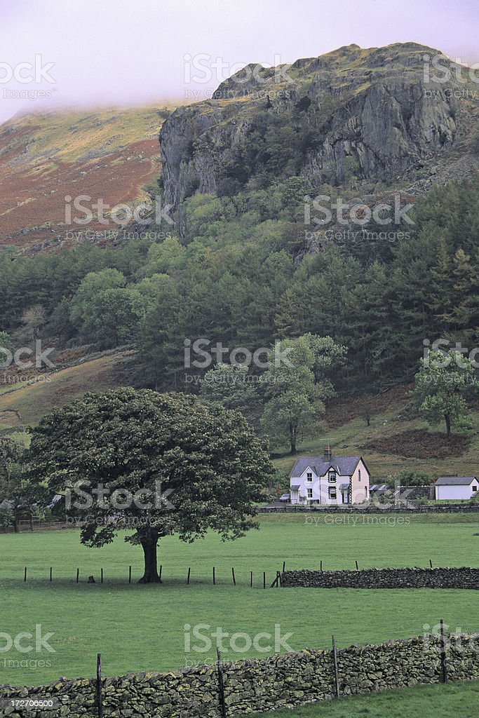 Rural England royalty-free stock photo