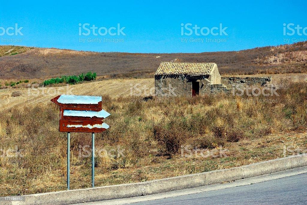 rural exodus royalty-free stock photo