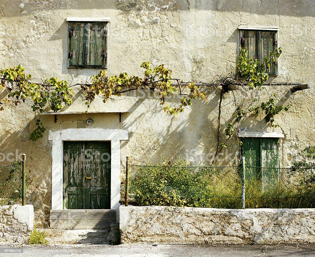 rural facade stock photo
