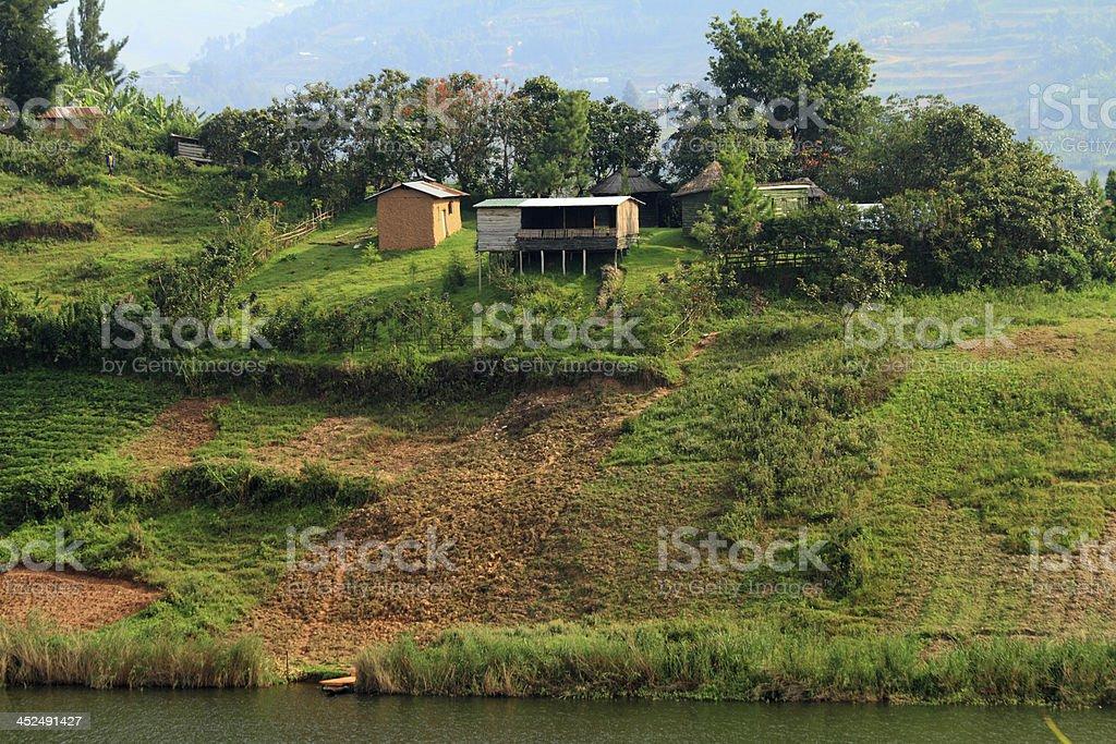 Rural Farming in Uganda stock photo