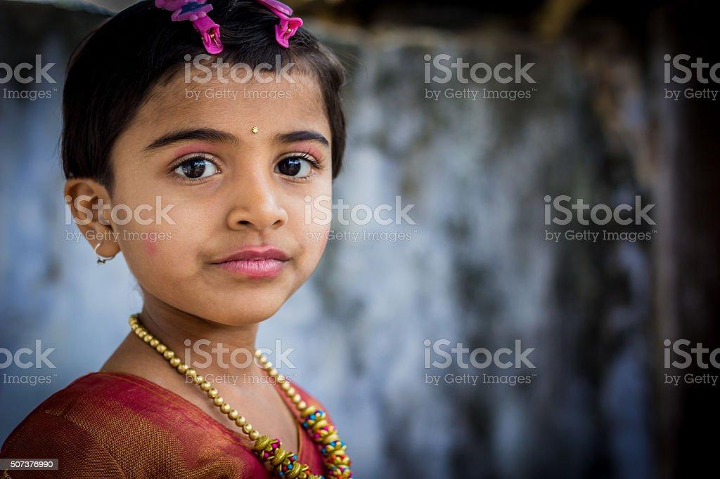 Rural Girl stock photo