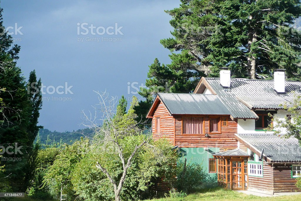 Rural house royalty-free stock photo