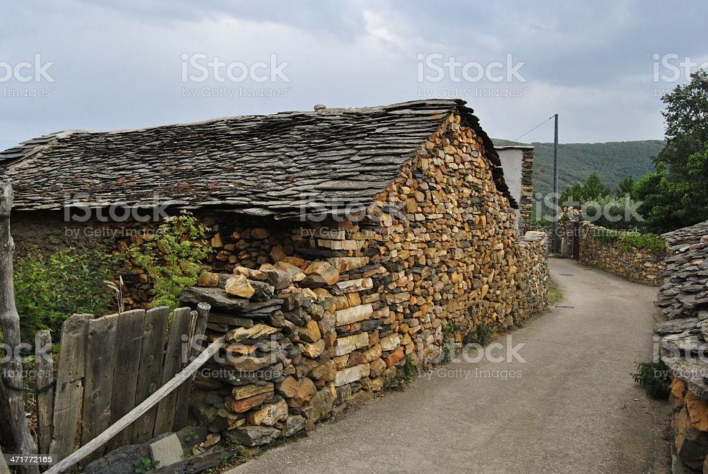 casa rural stock photo