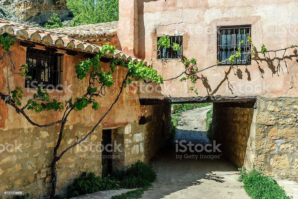 rural house stock photo