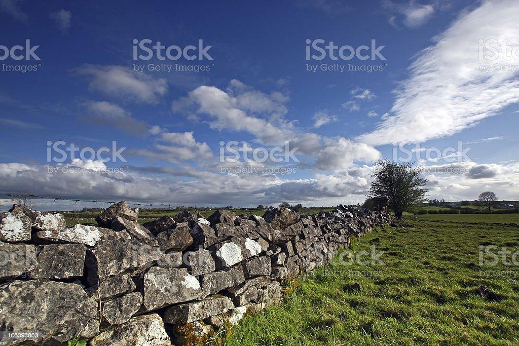 rural ireland royalty-free stock photo
