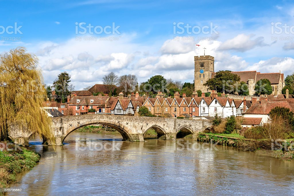Rural Kent stock photo