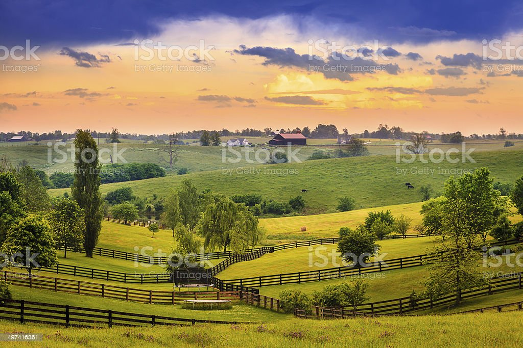 Rural Kentucky stock photo
