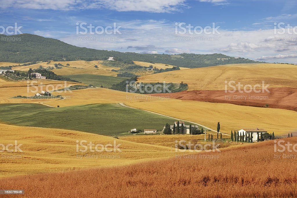 Rural landscape, Italy royalty-free stock photo